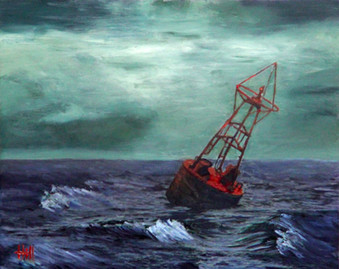 A Buoy                                                  Placed By a Devastated Father