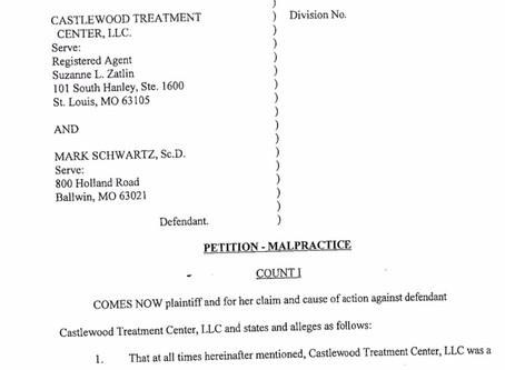 Castlewood Lawsuit #2 - Leslie Thompson