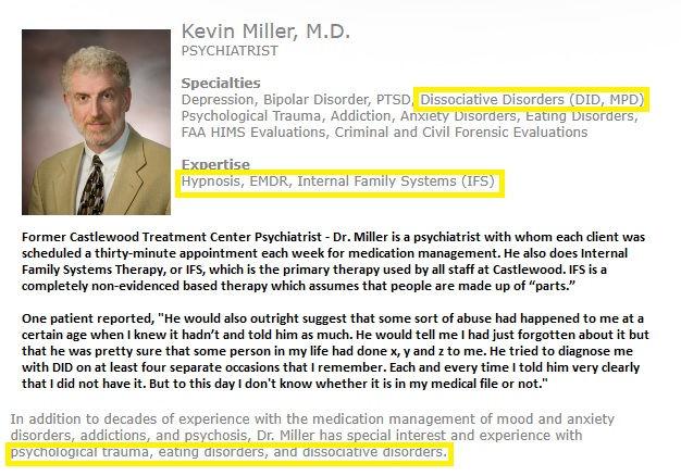 Dr. Kevin Miller Castlewood Treatment Ce