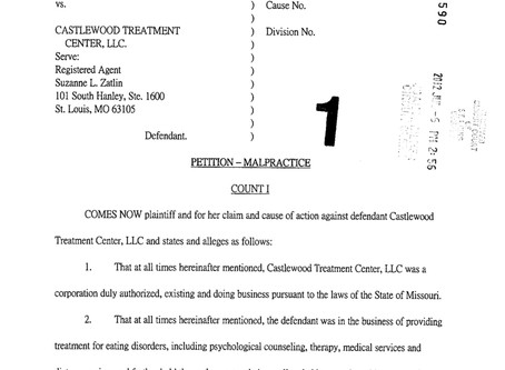 Alsana Castlewood Treatment Center Lawsuit #3 - Brooke Taylor
