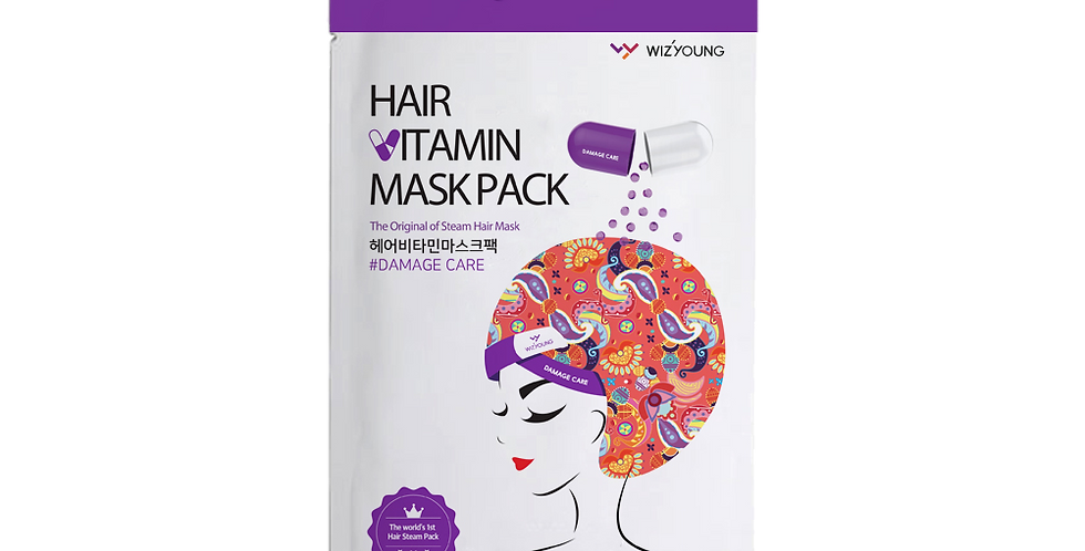 Wizyoung - Steam Hair Mask #Damage Care