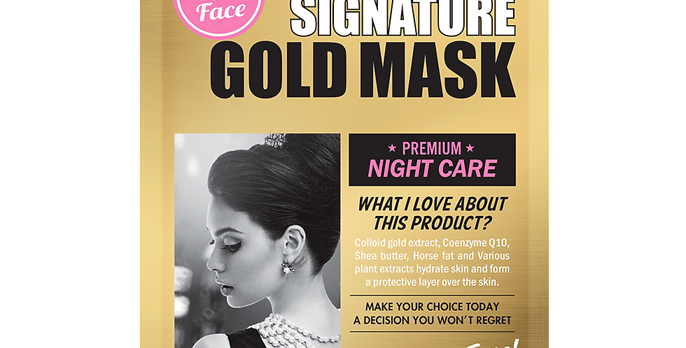 Faith In Face - Signature Gold Mask
