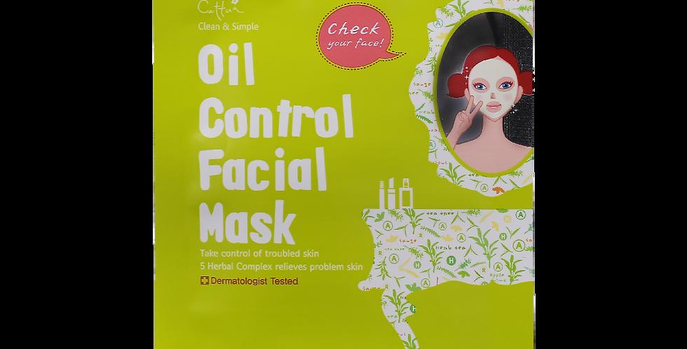 Cettua - Oil Control Facial Mask