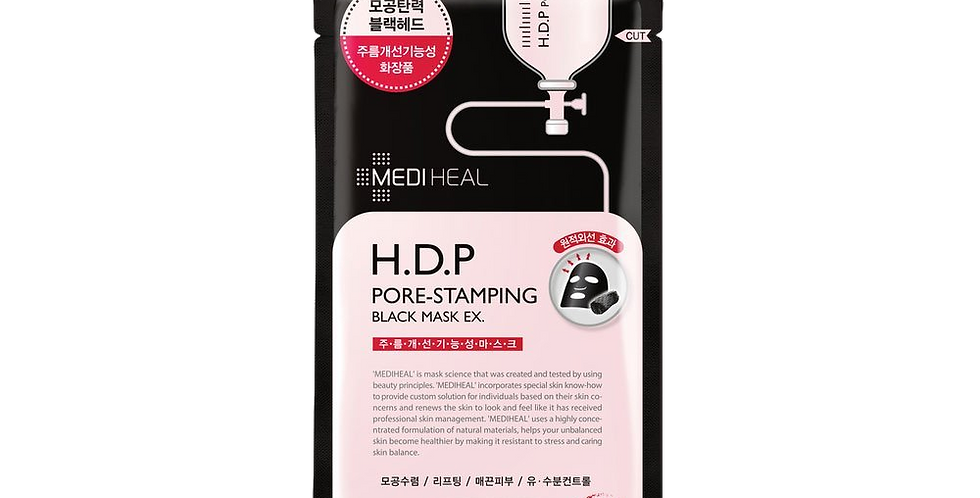 Mediheal - H.D.P Pore-Stamping Black Mask