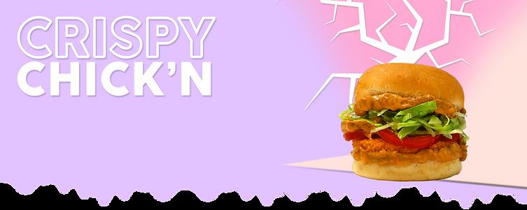 crispy chick'n - naked burger