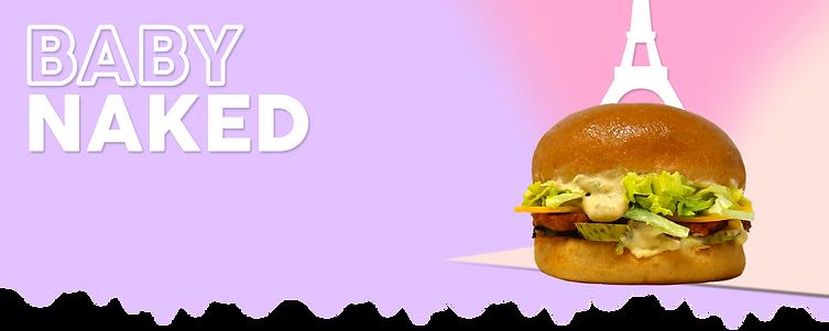 baby naked - naked burger
