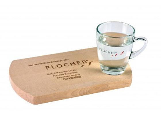 Plateau boissons en bois PLOCHER