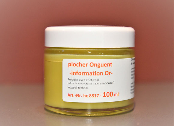 Onguent cire d'abeille - information Or