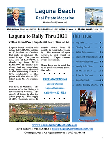 October 2020 Laguna Beach Real Estate Magazine