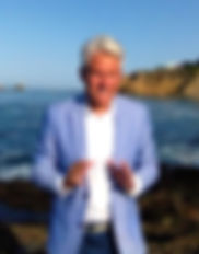 Boyd Roberts broker Laguna Gallery Real Estate speaking August 3, 2018 at Crescent Bay, Laguna Beach, CA 92651