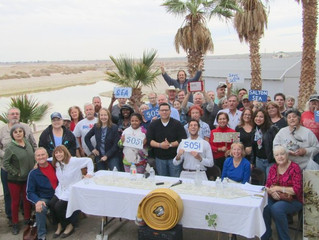 State Meets with Desert Shores Residents