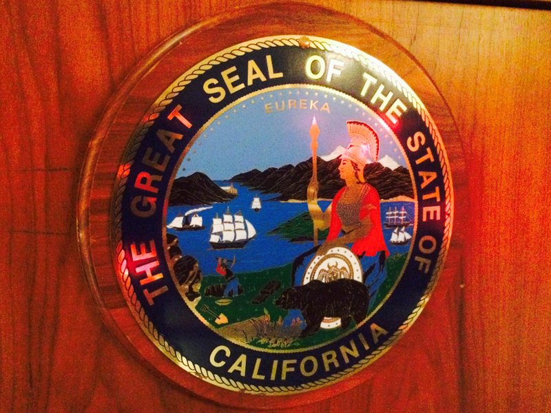 SOS Salton Sea California State Seal