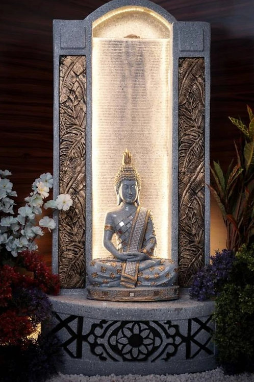Stunning Buddha Water Fountain with LED