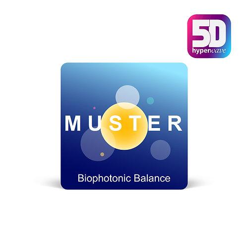 Biophotonic Balance 20x20 laminiert
