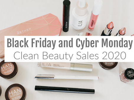 40+ Clean Beauty Black Friday 2020 Deals