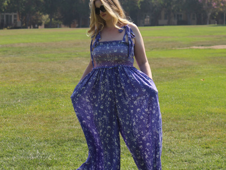 Free People Color My World Jumpsuit