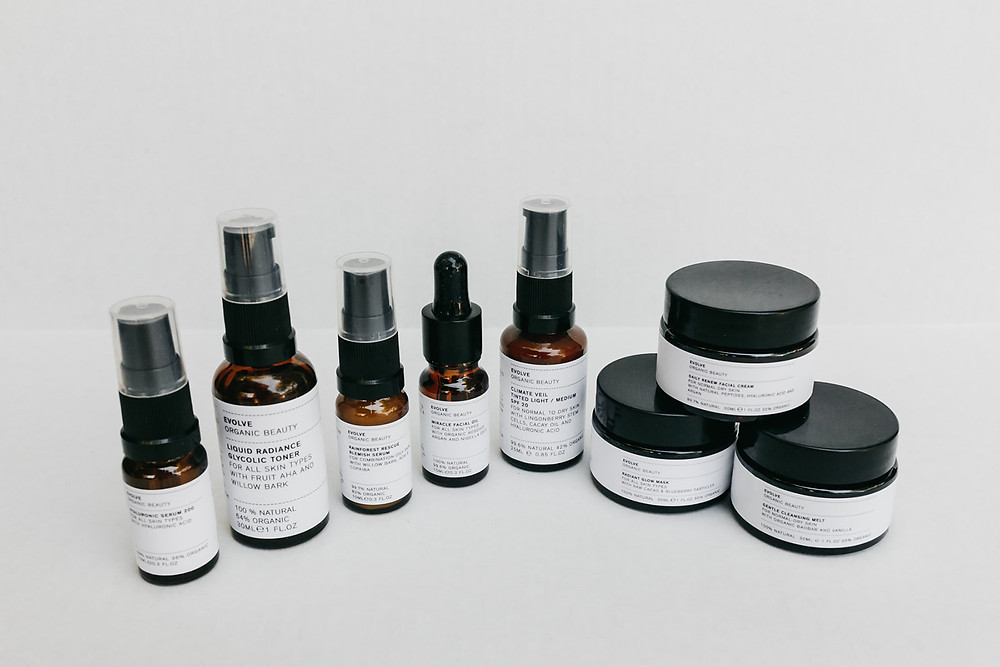 Evolve Organic Skincare Products