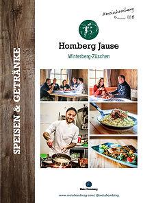 Speisenkarte der Homberg Jause hier herunterladen