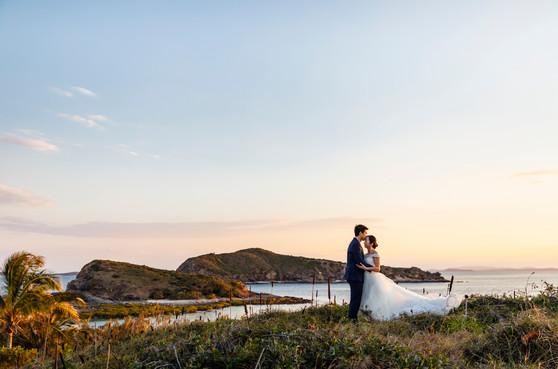 Pumpkin Island Wedding