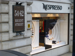 Nespresso on Regent Street