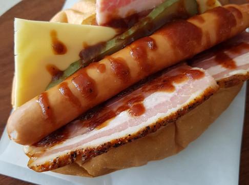 T & T Texas BBQ hotdog.jpg