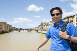 On the Ponte Vecchio