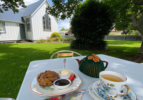 T & T scones and hall in background.jpg