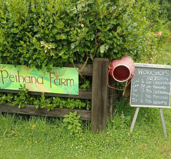T & T Peihana Farm sign.png