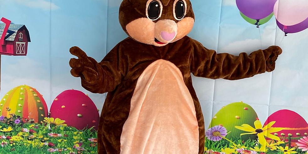 Good Friday Easter Bunny Visit (2nd April)
