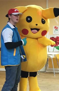 Pikachu&ash