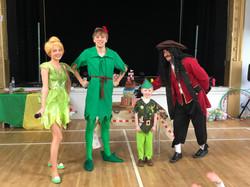 Peter,Tink&Hook
