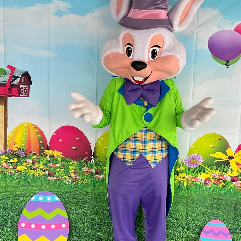 Easter Bunny Visit Easter Saturday (3rd April)