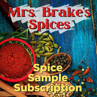 spice sample subscription