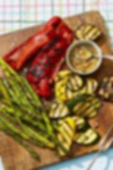 grilled-veggies-honey-thyme-vinaigrette-