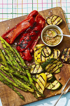 grilled-veggies-honey-thyme-vinaigrette-