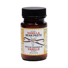 a bottle of vanilla bean paste