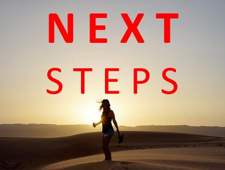 Next Steps. Entdecke deine Bestimmung. 4 Treffen die dein Leben verändern können.