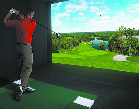 We offer professional fittings on our state of the art simulator.