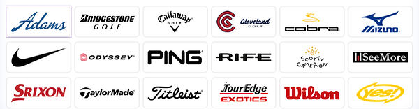 We are an authorized dealer of all major Golf brands.