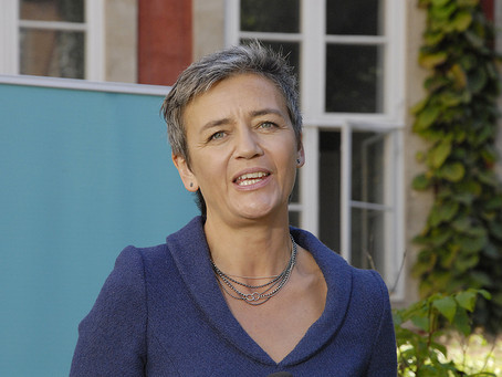 "Big Tech faces ""V"" for Vestager"