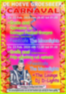 De Hoeve Groesbeek Carnaval 2020 Formaat