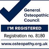 MMW Osteopath registration mark