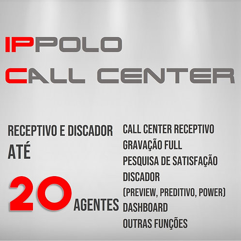 20 Agentes - IPPOLO CALL CENTER DISCADOR