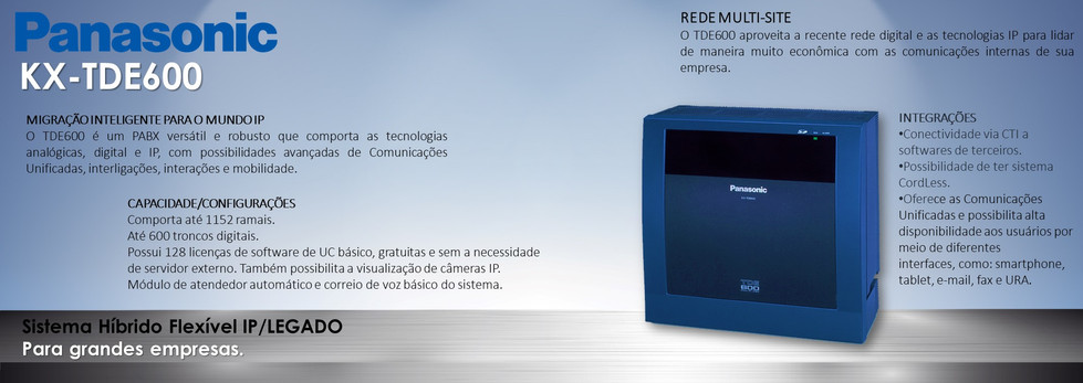 PABX IP - NS500