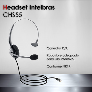 Headset Intelbras CHS55