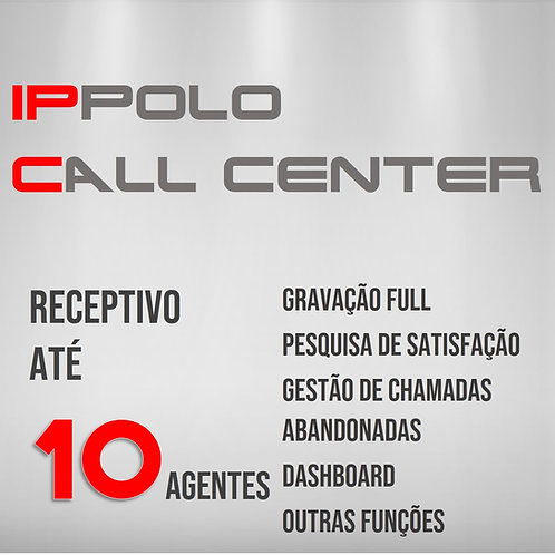 10 Agentes - IPPOLO CALL CENTER