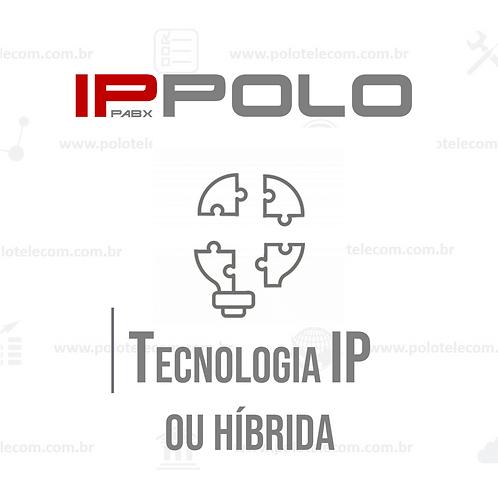 PABX de Tecnologia IP ou Híbrida