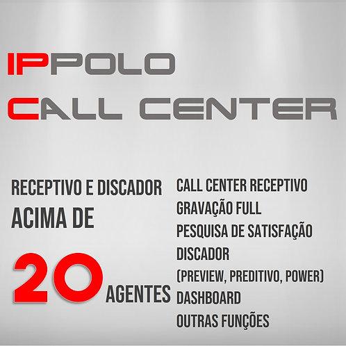 Acima de 20 Agentes - IPPOLO CALL CENTER DISCADOR