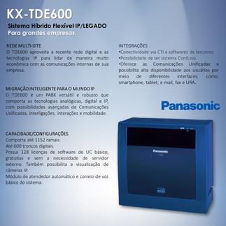 PABX TDE600