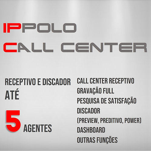 5 Agentes - IPPOLO CALL CENTER DISCADOR